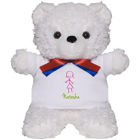 Natasha-cute-stick-girl.png Teddy Bear