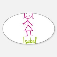 Isabel-cute-stick-girl.png Decal