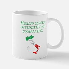 Italian Proverb Envy Pity Mug