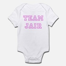 Pink team Jair Infant Bodysuit