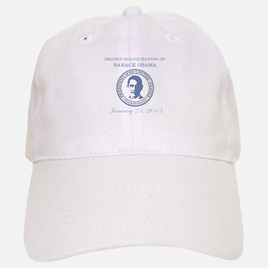 Second Inauguration: Baseball Baseball Cap