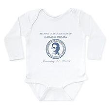Second Inauguration: Long Sleeve Infant Bodysuit