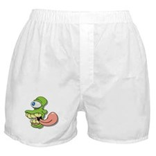 Green Cyclops Monster Boxer Shorts