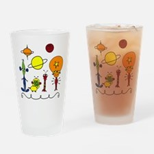 Out of This World Drinking Glass