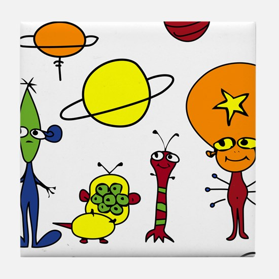Out of This World Tile Coaster