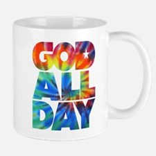 GOD ALL DAY Tie Dye Mug