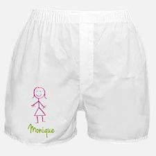 Monique-cute-stick-girl.png Boxer Shorts
