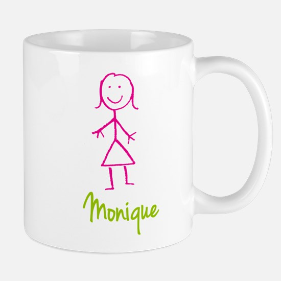 Monique-cute-stick-girl.png Mug