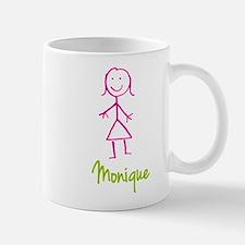 Monique-cute-stick-girl.png Small Small Mug
