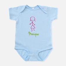 Monique-cute-stick-girl.png Infant Bodysuit