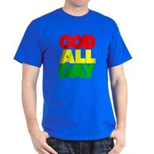 GOD ALL DAY Rasta T-Shirt