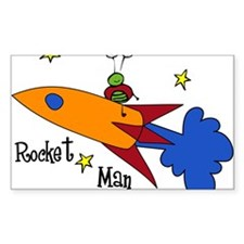 Rocket Man Decal