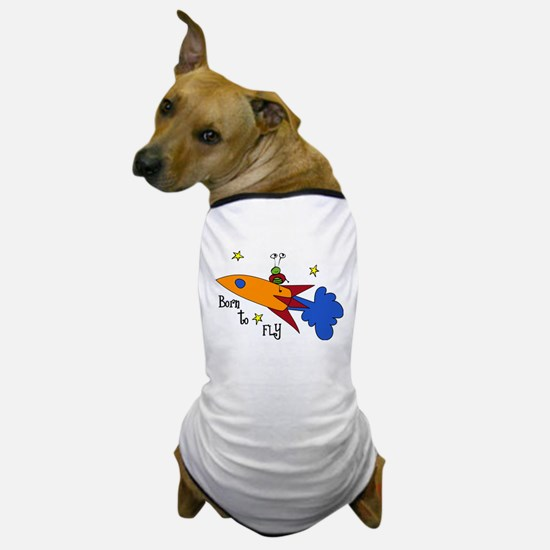 Born to Fly Dog T-Shirt