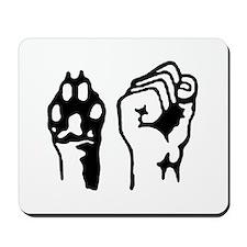 Animal and Human liberation. Mousepad