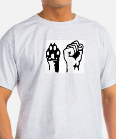 Animal and Human liberation. T-Shirt