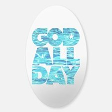GOD ALL DAY Water Decal
