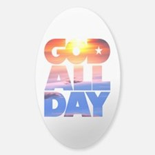 GOD ALL DAY Sunset Decal