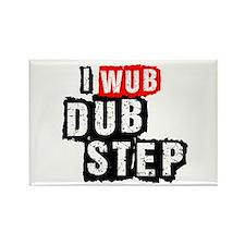 I Wub Dubstep Rectangle Magnet