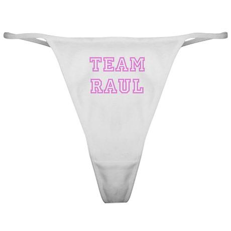 Pink team Raul Classic Thong