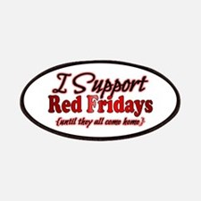 I support Red Fridays Patches