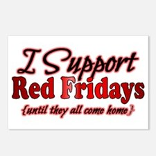 I support Red Fridays Postcards (Package of 8)