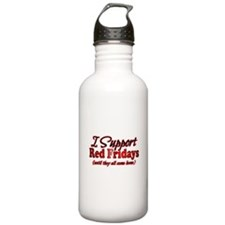 I support Red Fridays Water Bottle