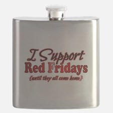 I support Red Fridays Flask