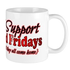 I support Red Fridays Mug