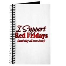 I support Red Fridays Journal