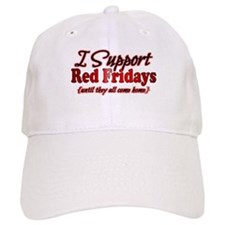 I support Red Fridays Baseball Baseball Cap
