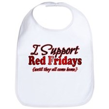 I support Red Fridays Bib