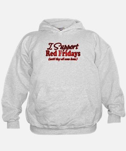 I support Red Fridays Hoodie