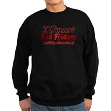 I support Red Fridays Sweatshirt