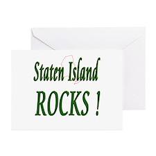 Staten Island Rocks ! Greeting Cards (Pk of 10