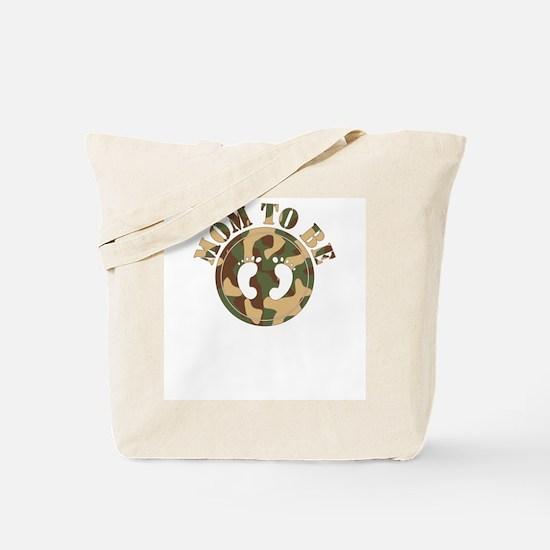 Mom to Be (Camo) Tote Bag