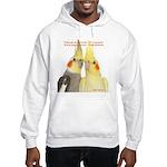 Cockatiel 2 Steve Duncan Hooded Sweatshirt