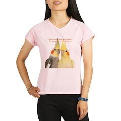 Cockatiel 2 Steve Duncan Performance Dry T-Shirt