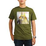 Cockatiel 2 Steve Duncan Organic Men's T-Shirt (da