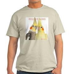 Cockatiel 2 Steve Duncan T-Shirt