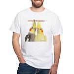 Cockatiel 2 Steve Duncan White T-Shirt