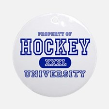Hockey University Ornament (Round)