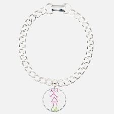 Celia-cute-stick-girl.png Bracelet