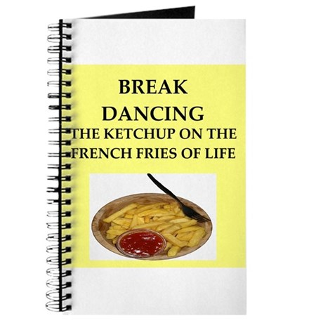 break dancing Journal