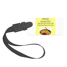 break dancing Luggage Tag