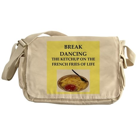 break dancing Messenger Bag