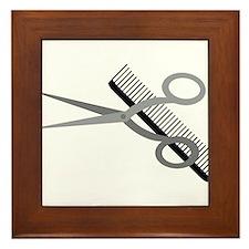 Who Needs a Haircut? Framed Tile