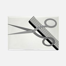 Who Needs a Haircut? Rectangle Magnet