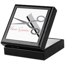 Shear Genius Keepsake Box