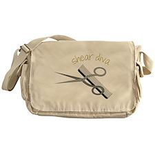 Shear Diva Messenger Bag