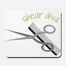 Shear Diva Mousepad